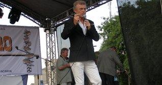 Виступ народного артиста України Миколи Гнатюка на святкуванні Дня міста