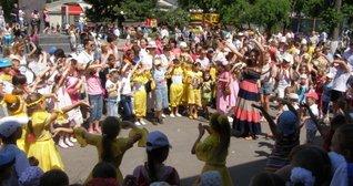 Дитяча святкова програма на День захисту дітей