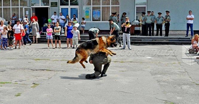 Виставка військової техніки Національної гвардії України