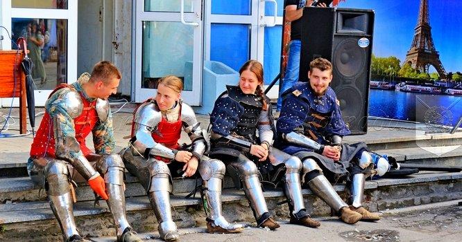 Рицарський турнір на святкуванні 144-ї річниці Дня міста