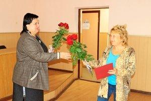 Тетяна Єрмолаєва привітала козятинських газовиків з професійним святом