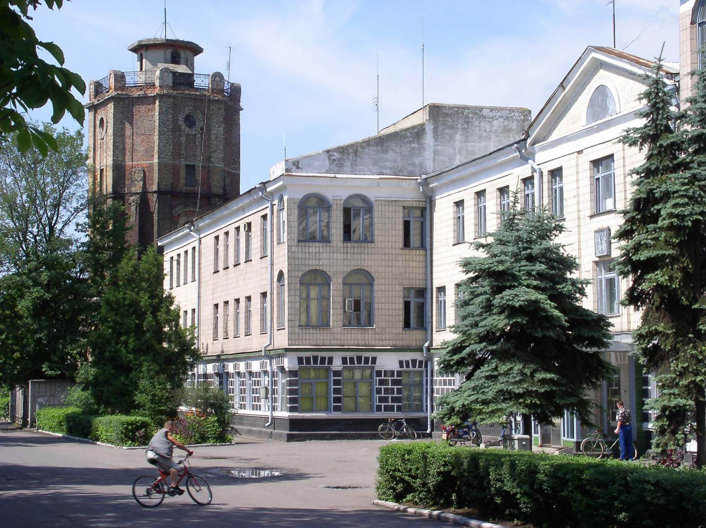 Пам'ятка архітектури - водонапірна вежа