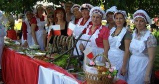 Вишукані страви, презентовані ГО Центр польської культури ім.Т.Падури