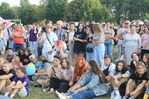 Церемонія закриття ялинки у Козятині відбулася під українські пісні Назарія та Дмитра Яремчуків